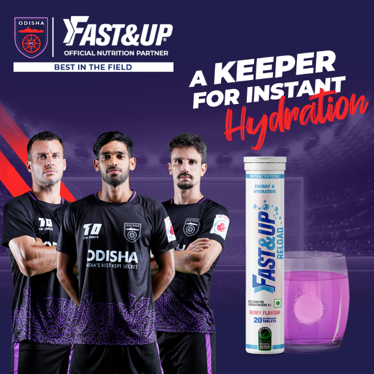 Odisha FC Diet Fast&Up Reload