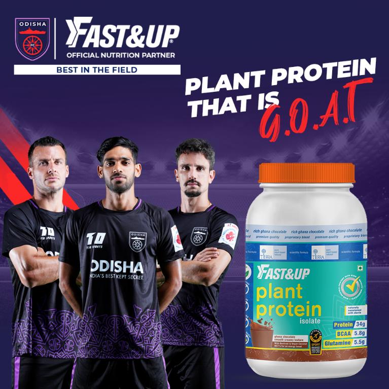 Odisha FC Diet Fast&Up Plant Protein
