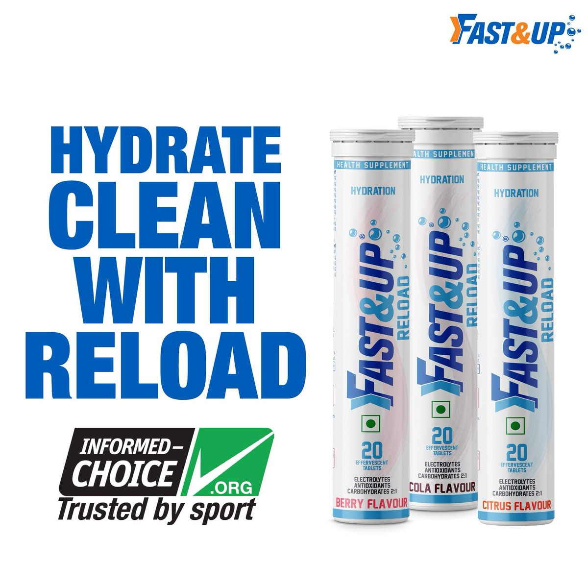 Clean Nutrition Supplements for ISL - Fast&Up
