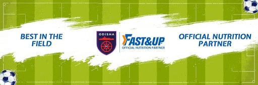 Official Nutrition Partner for Football - Fast&Up