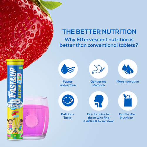 Fast&Up Kidz Supplements for Hydration