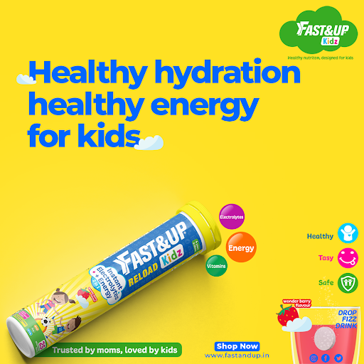 Healthy Hydration Supplements for Kids - Fast&Up