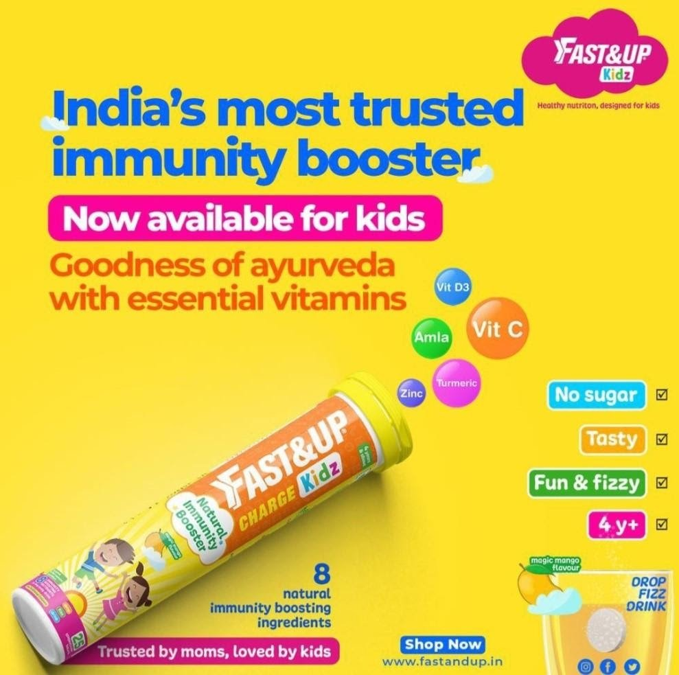 Immunity Boosters for Kids - Fast&Up
