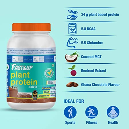 Informed Sport Certified Indian Protein Supplement - Fast&up