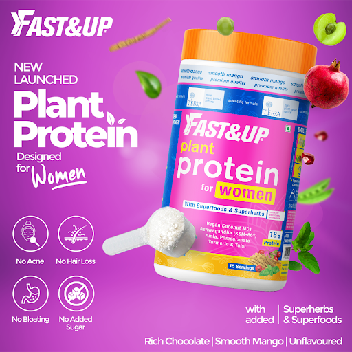 Plant Protein for Women - Fast&Up