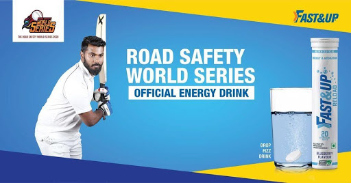 Road Safety World Series 2021 Official Energy Drink - Fast&Up