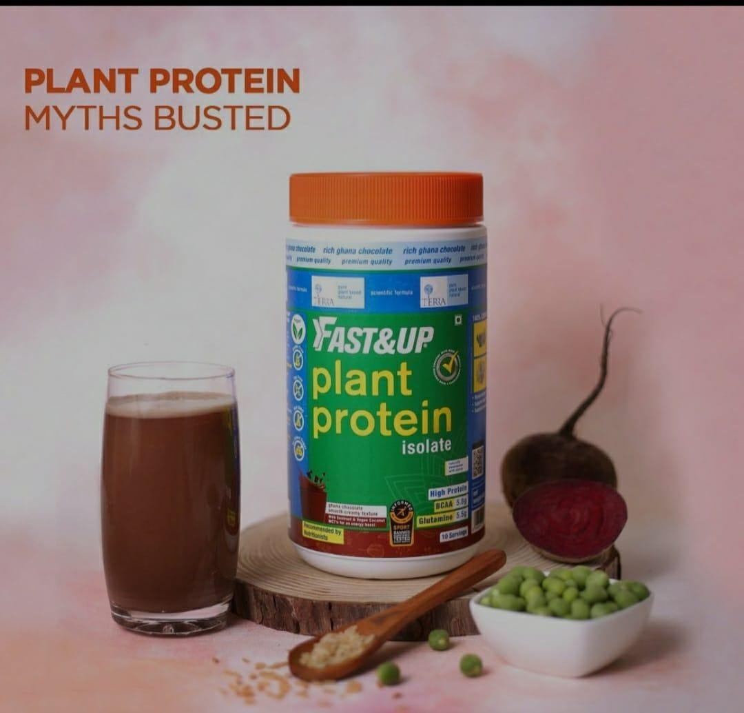 Plant Based Protein for Army - Fast&Up