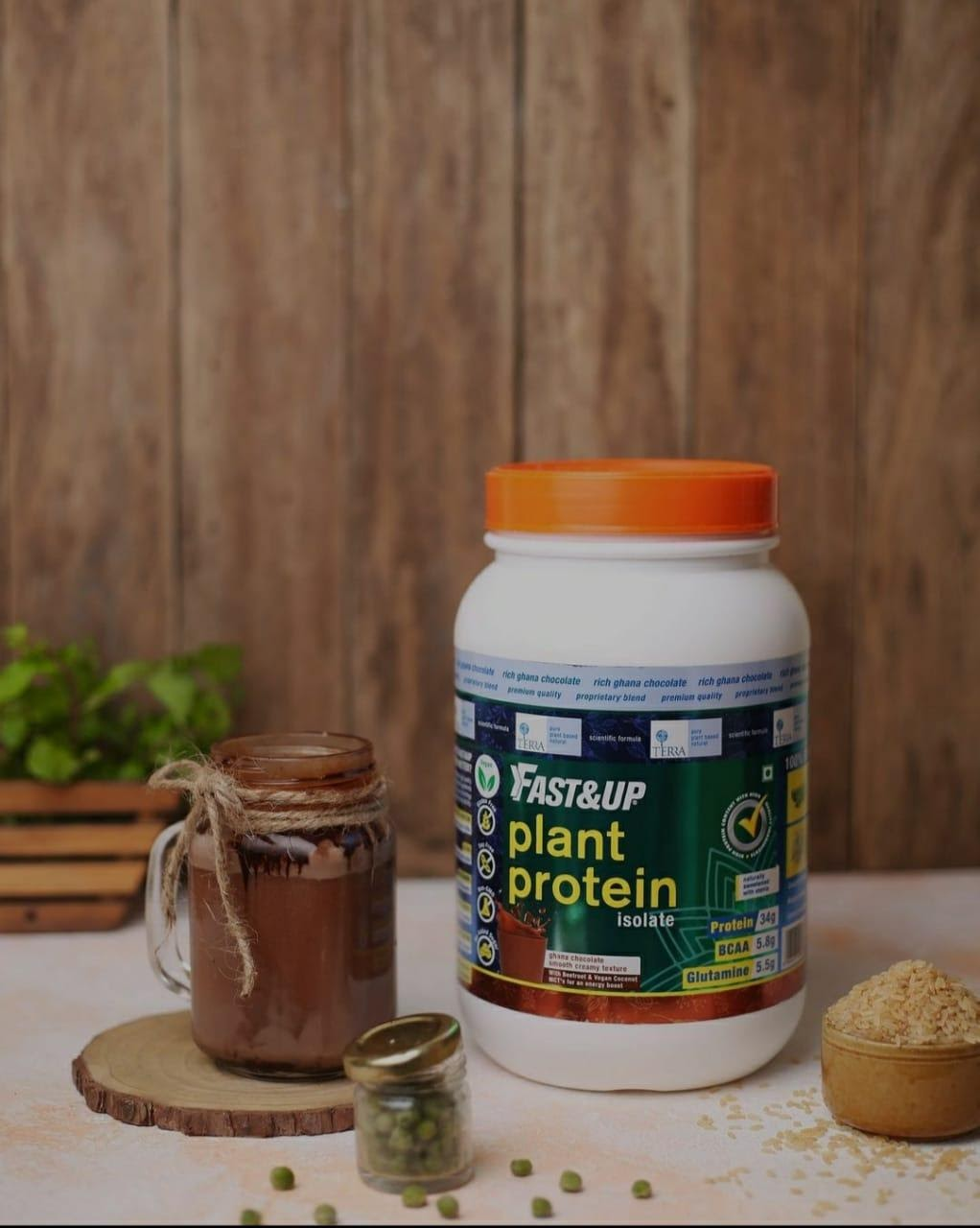 Plant Based Protein for Runners - Fast&Up
