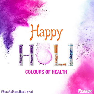 Stay Hydrate During Holi - Fast&Up