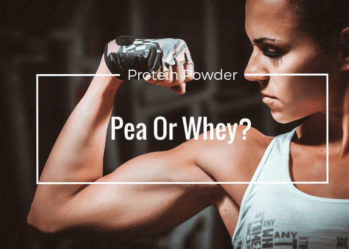 Pea Vs Whey Protein