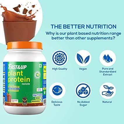 Plant Protein Supplements - Fast&Up